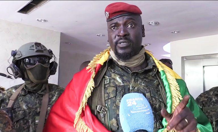 Guinée : la junte lance une concertation cruciale en vue d'un rétablissement d'un pouvoir civil