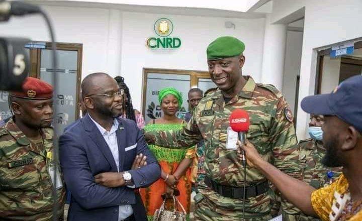 Colonel Balla Samoura, « Djoma media n'a entrepris aucune action déstabilisatrice à l'endroit du CNRD »