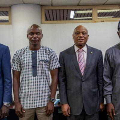 Abuja au Nigeria : les émissaires du FNDC chez le président de la Commission de la CEDEAO