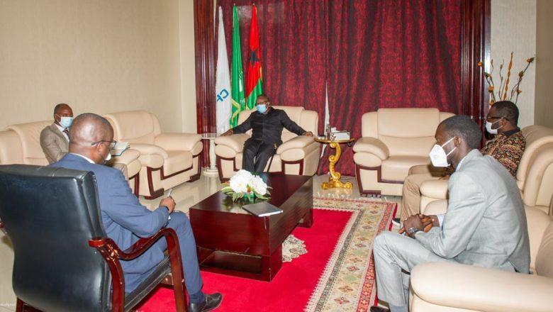 Transition guinéenne :  une délégation du FNDC reçue par le président Umaru Sissoco Embaló à Bissau