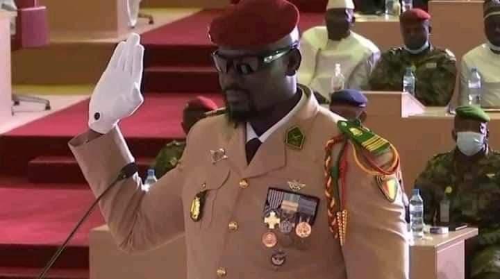 Guinée – investiture : voici le discours intégral du président de la Transition, colonel Mamady Doumbouya